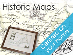 Historic Maps of Castor