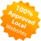 100% Approved Local Websites